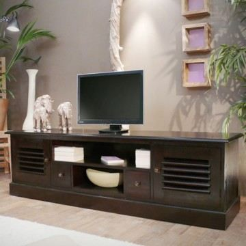 meuble tv en acajou 170 multim dia akaboty achat vente. Black Bedroom Furniture Sets. Home Design Ideas