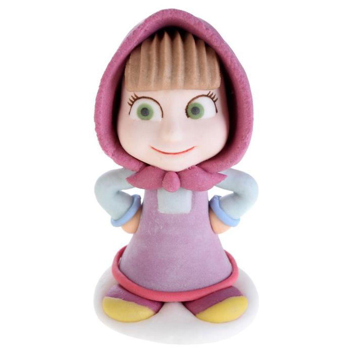Figurine En Sucre Masha Et Michka Masha 2 4 X 5 X 2 5 Cm
