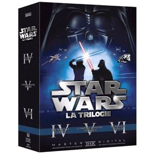 DVD FILM DVD Star wars trilogy , épisodes 4 à 6