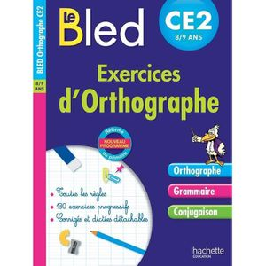 DICTIONNAIRES Exercices d'orthographe CE2 8-9 ans