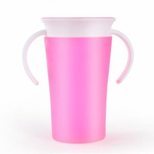 TASSE D'APPRENTISSAGE 260ml Tasse d'apprentissage en Silicone Miracle 36