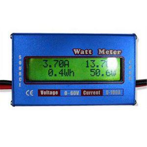 TESTEUR DE BATTERIE Analyseur batterie Testeur 60V 100A Watt Meter Num