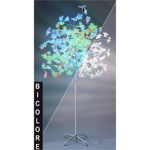 Arbre rable lumineux ext rieur 1 80m led bicolore flash for Arbres lumineux exterieur
