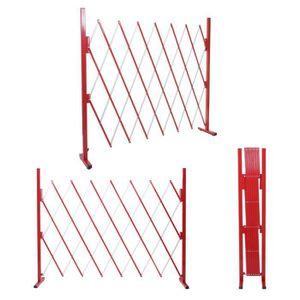 CLÔTURE - GRILLAGE Grillage HWC-B34, grille protectrice télescopique,