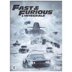 DVD FILM Fast and Furious - L'intégrale 8 films [DVD]