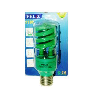 AMPOULE - LED  Ampoule spirale VERTE E27 basse consommation