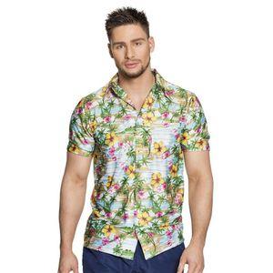 CHEMISE - CHEMISETTE Chemise Hawaienne - Paradise - Homme - Taille : L