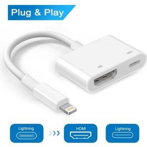ADAPTATEUR AUDIO-VIDÉO  ChangM® Lightning vers Câble Adaptateur HDMI Adapt