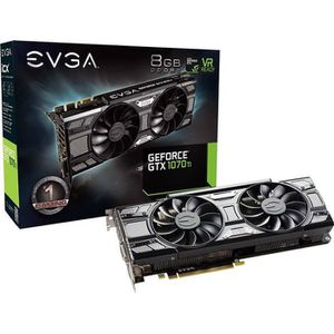 CARTE GRAPHIQUE INTERNE EVGA Carte Graphique GeForce GTX1070Ti SC ACX3 - 8