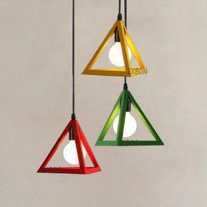 LUSTRE ET SUSPENSION EXBON Moderne Suspension Lustre E27 Lampe de Plafo