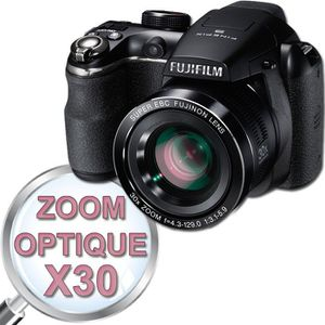 APPAREIL PHOTO COMPACT FUJIFILM S4500 Bridge Noir - CDD 14MP Zoom 30x