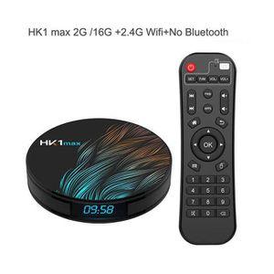 BOX MULTIMEDIA HK1 Max Android 9.0 Boîtier Smart TV Wifi 4K Wifi