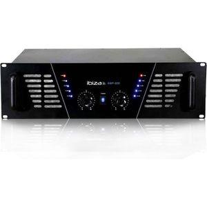 AMPLI PUISSANCE Amplificateur sono Dj 2 x 600W Max AMP-800