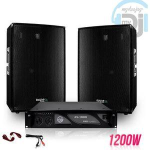 PACK SONO Pack sonorisation 2 Enceintes passives 12