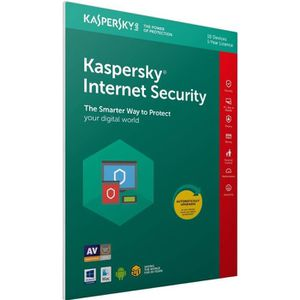 ANTIVIRUS KASPERSKY Internet Security 2019, 10 postes, 1 an