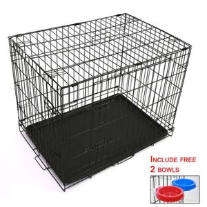 cage pour grand chien achat vente cage pour grand chien pas cher cdiscount. Black Bedroom Furniture Sets. Home Design Ideas