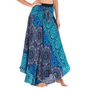 JUPE JUPE Femmes Longue Hippie Bohème Gypsy Boho Fleurs