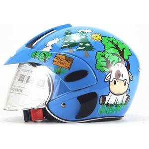 CASQUE MOTO SCOOTER Casque de Moto Protection Enfant