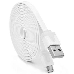 CÂBLE TÉLÉPHONE Cable Noodle 3m Micro USB pour SAMSUNG Galaxy J5 2