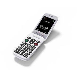 Téléphone portable SWISSVOICE D28 - Téléphone mobile débloqué 2G pour