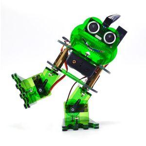 Vue en coupeTek KS0446 Kit Robot DIY 4-DOF Robot Grenouille pour