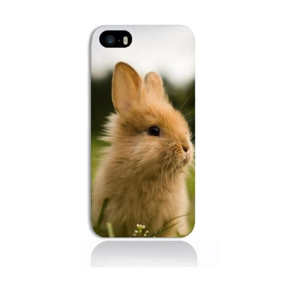 coque iphone 5 5s lapin