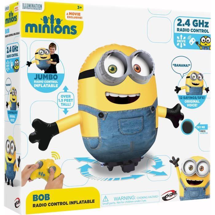 bon plan Kit Modelisme A Construire YWUW1 Minion Bob Rc gonflable, banane - crème - indigo