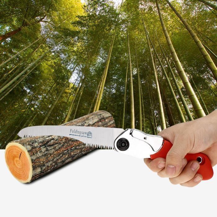 Élagage De Jardinage, Scie à élaguer manuelle portable pliable avec poignée antidérapante Outil de coupe pour jardinage extérieur-OH