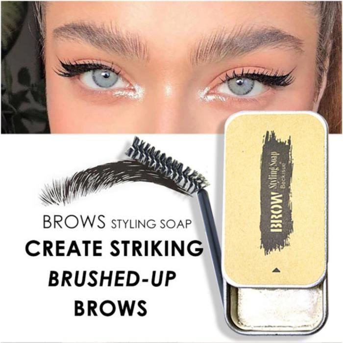 3D sourcils plumes sourcils façonnage crème sourcils maquillage savon imperméable à l'eau longue durée sourcils réglage Kit sourcils