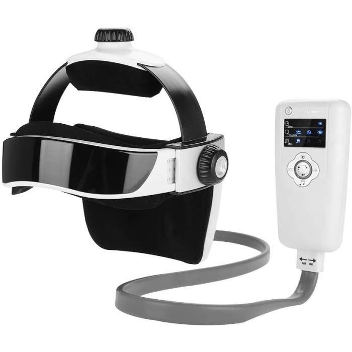 Accessoires de massage manuel Masseur de tête électrique Masseur de tête Choc de pression Casque Acupuncture Cerveau Rel 179252