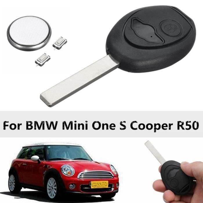 JL U 2-Bouton Coque Cle Telecommande pour Bmw Mini One S Cooper R50 - JLAVC824AA6748