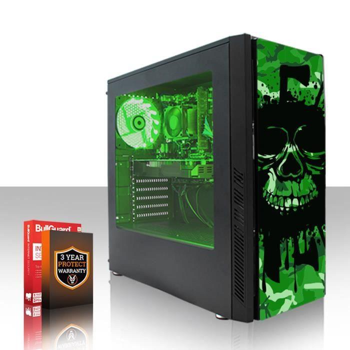Fierce Exile Pc Gamer de Bureau Amd Athlon X4 950 4X3.8Ghz Cpu, 8Go Ram, Gtx 1050 Ti 4Go, 1To Hdd 416953