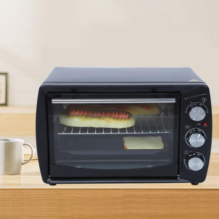 20L Petit Four Électrique de Bureau Multifonction Machine Cuisson Ménage Appareils Cuisine (EU 220V )