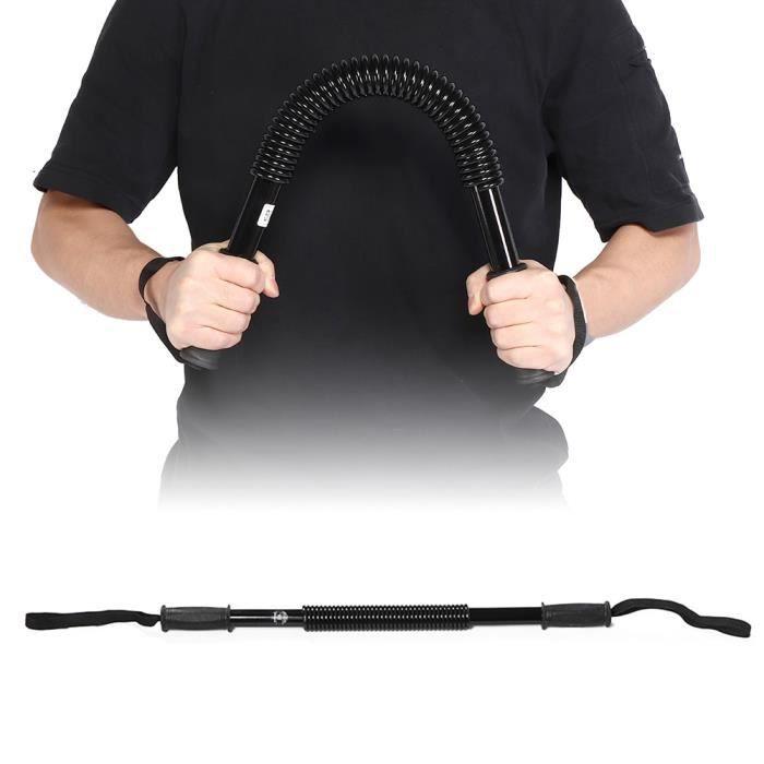 Drfeify extenseur de poitrine Appareil de remise en forme de l'entraîneur de muscle de force d'avant-bras de ressort d'exercice de
