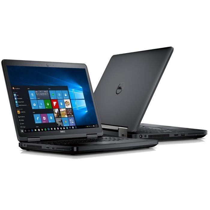 Dell Latitude E5440 14- Intel Core i5-4300U 4th Gen 1.9 GHz - 4 Go RAM, 128 Go SSD - Windows 10 Professional