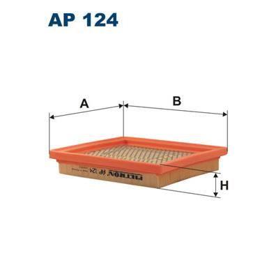 FILTRON Filtre à air AP 124