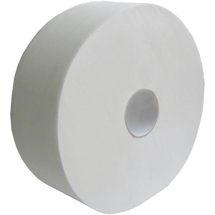 OUATINELLE Papier hygiénique 380 m pure ouate blanc 2 plis - Pack de 6
