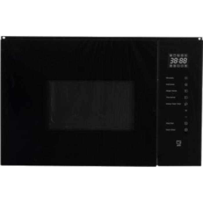 SHARP KM-2502B Micro-ondes gril - Noir - 25L - 900W - Gril : 1000W - Encastrable