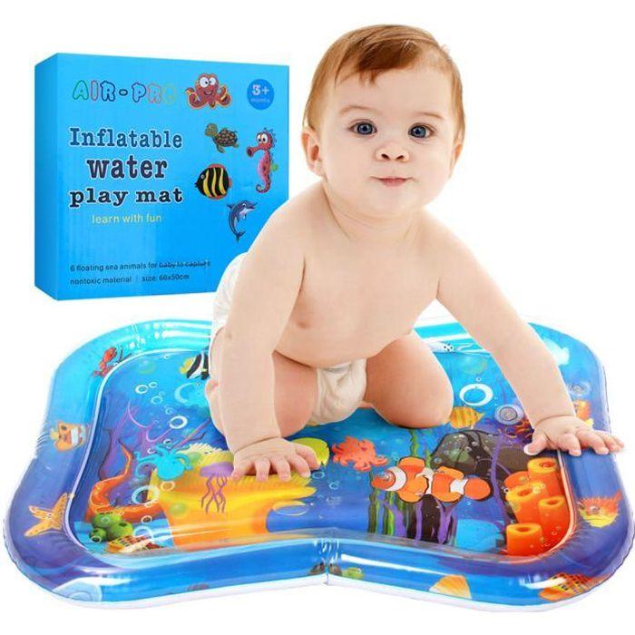 Stillcool® 66*50CM Tapis d'eau Matelas gonflable jouet enfant bébé éducatif océan atoll