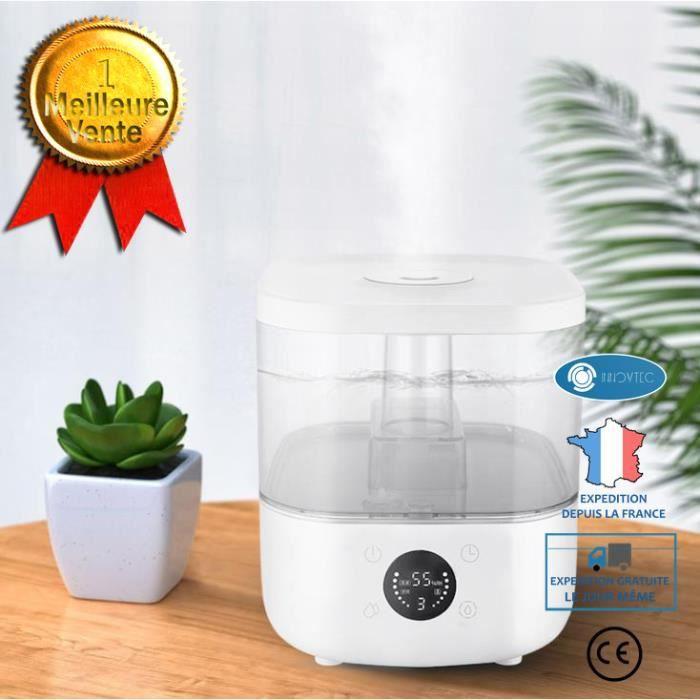 TD® Humidificateur - F600 5L Brumisateur à purification d'air domestique - Purificateur Brumatisateur d'Air silencieux pour maison