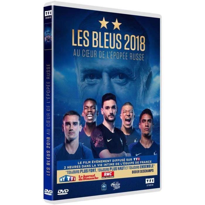 DVD - Les Bleus 2018 : Au coeur de l'épopée Russe