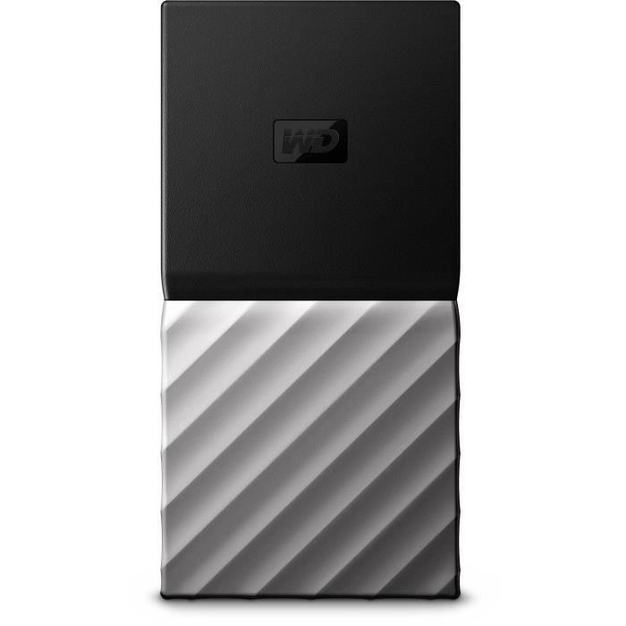 WD - Disque SSD Externe - My Passport™ - 512 Go - WDBKVX5120PSL-WESN