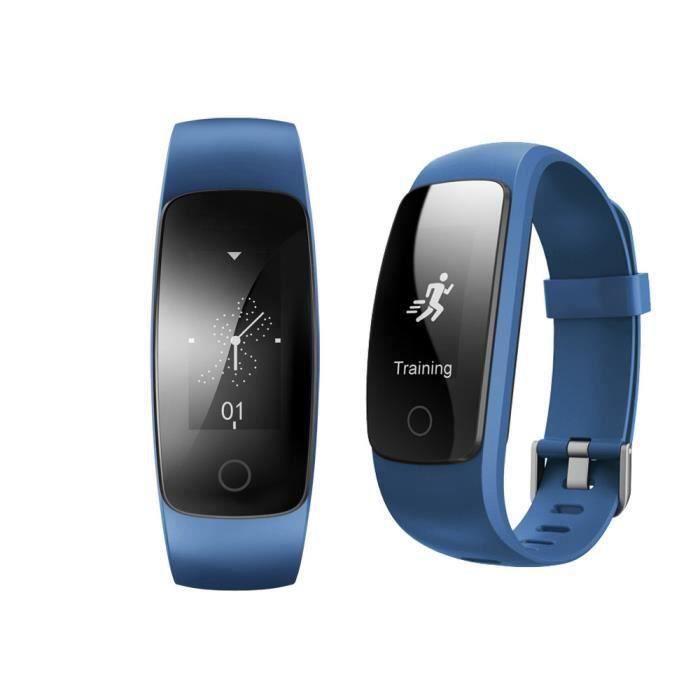 za001-ID107 plus HR Moniteur de fréquence cardiaque Bracelet Wristband piste Santé pour Android iOS ZNSB0264