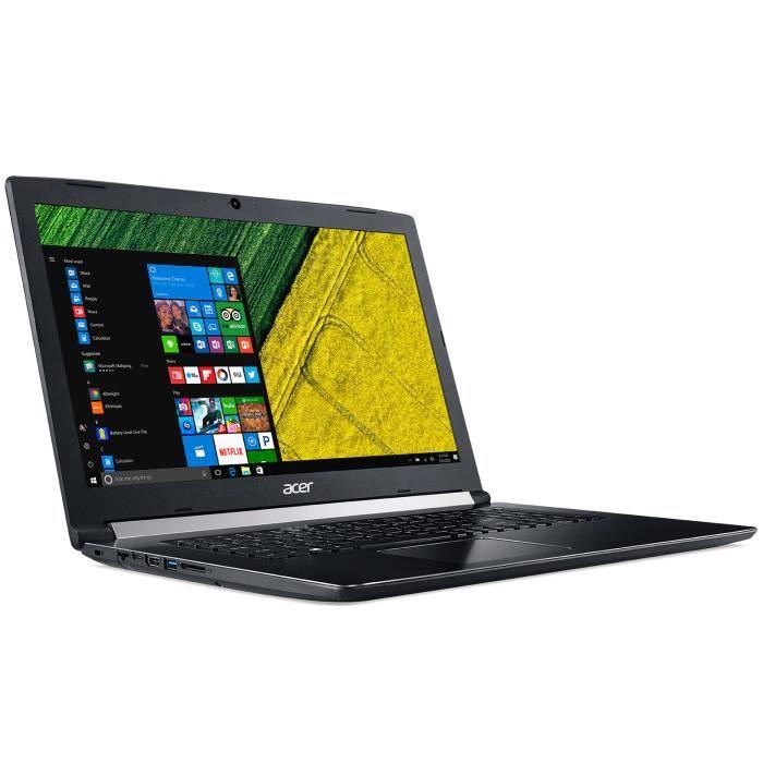ORDINATEUR PORTABLE Acer Aspire 5 A517-51-353X - Intel Core i3-7020U 8