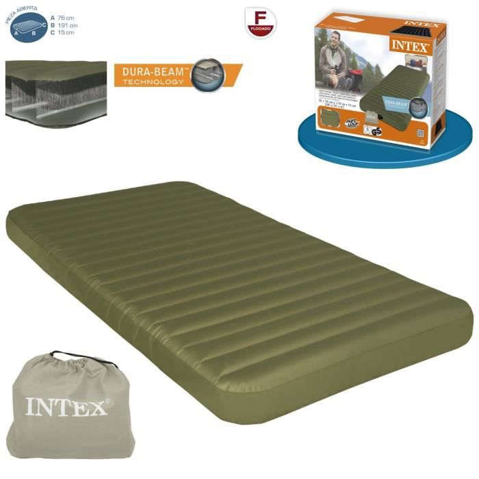 matelas de camping super hard r sistance 76x191x15cm prix pas cher cdiscount. Black Bedroom Furniture Sets. Home Design Ideas