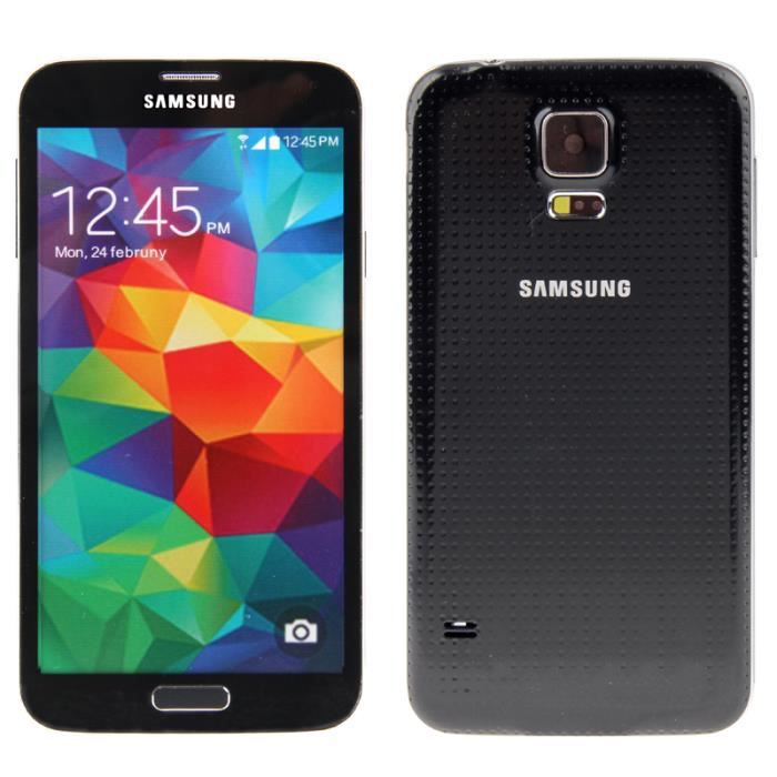 t l phone factice samsung galaxy s5 noir achat vente. Black Bedroom Furniture Sets. Home Design Ideas