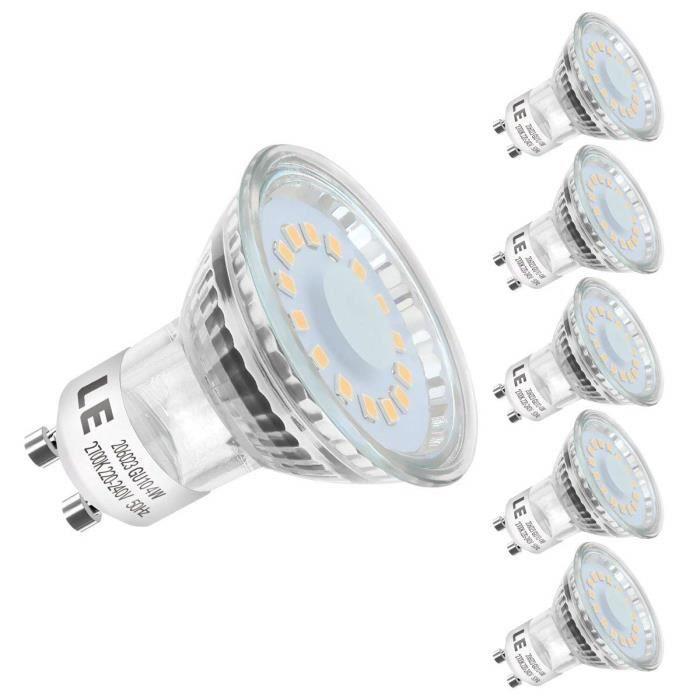 AA Lampes halogènes-GU10 50 W-AA-Halogène-GU10-8 Pack BOX