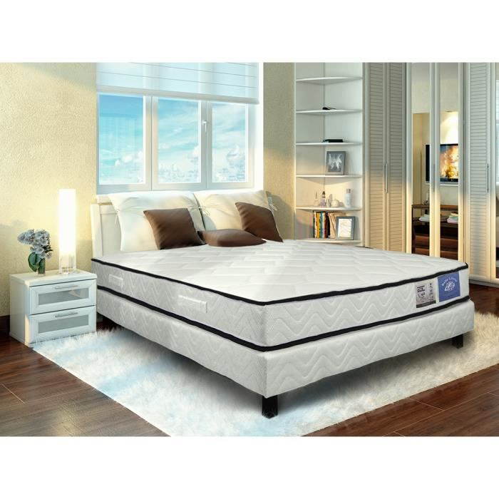 matelas ad quat ensach s belle literie 90x190 achat vente matelas cdiscount. Black Bedroom Furniture Sets. Home Design Ideas