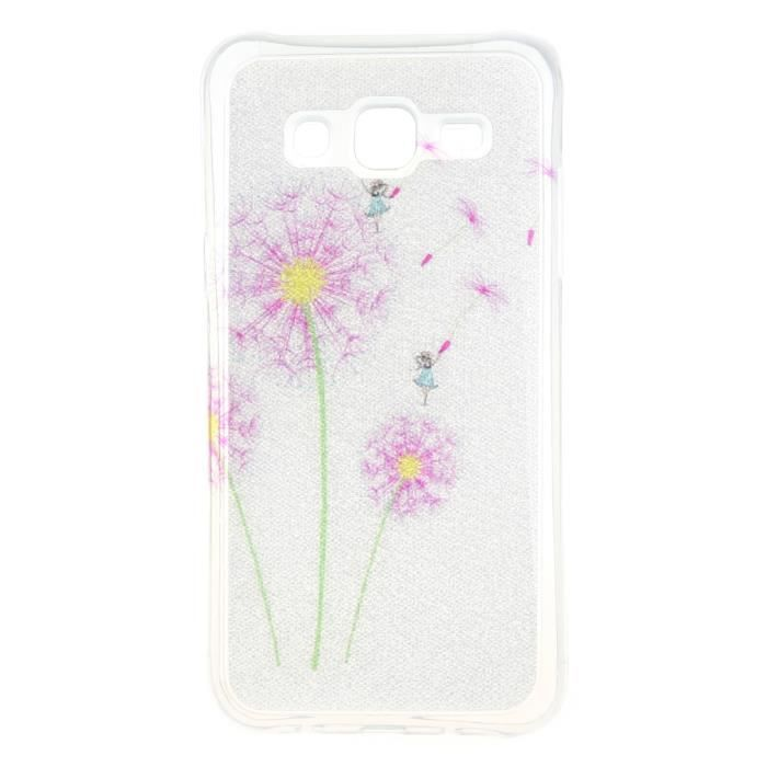 Leathlux coque tui pour samsung galaxy j5 sm j500f rose for Protection plante gel