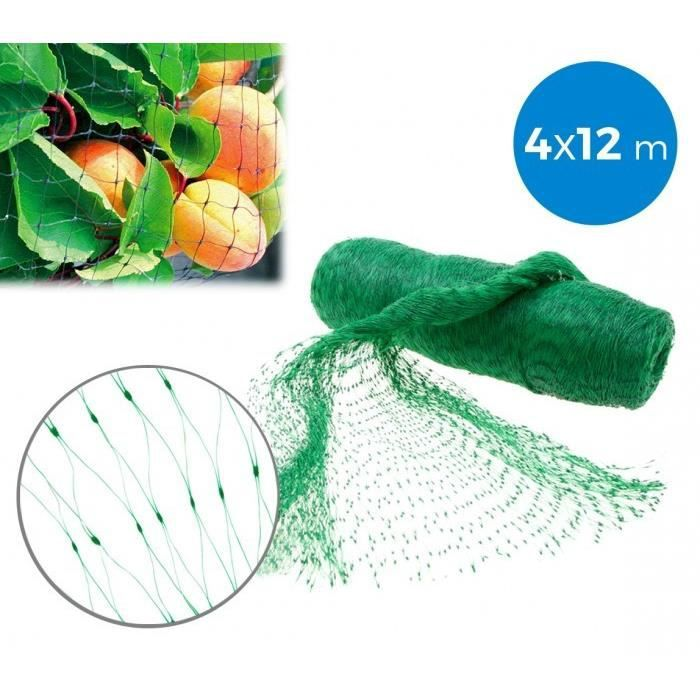 FILET ANTI-OISEAUX Filet d'entourage ou couvre-potager en nylon 4 x 1